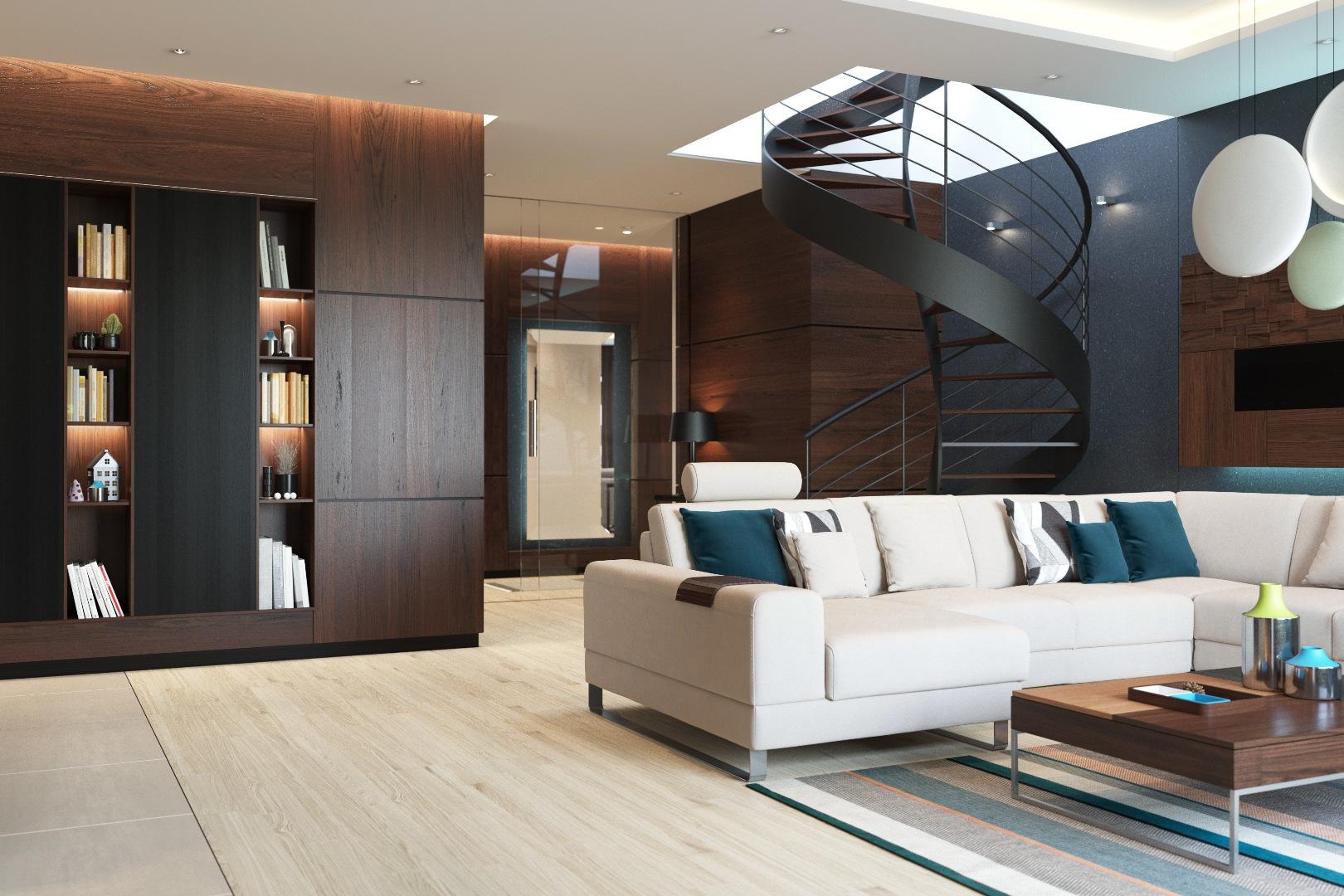 Mountain Apartment Interior Design Allcity Interiors