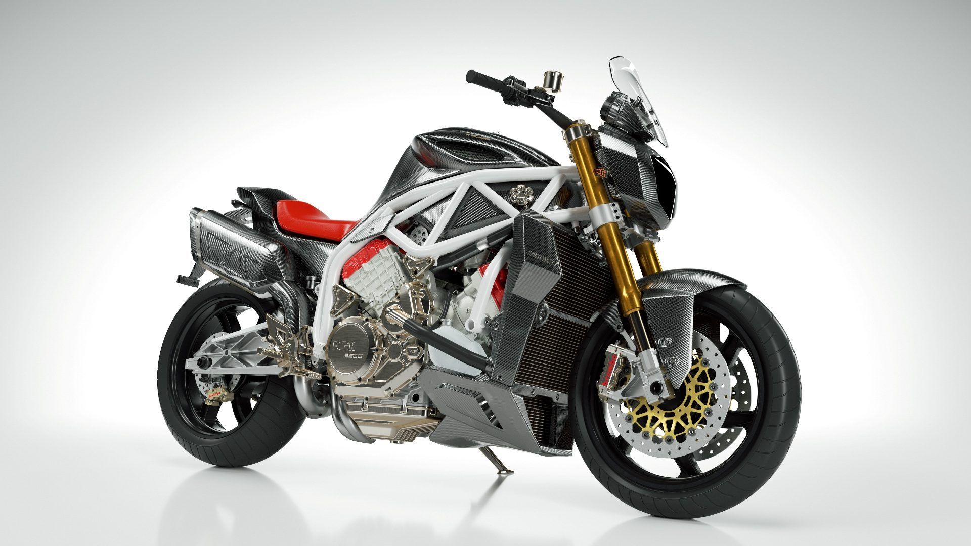 Motorcycle FGR MIDALU V6